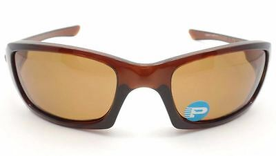 Genuine OAKLEY Fives OO9238 Replacement Sunglasses Lenses - Brown Polarized