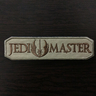 Star Wars JEDI MASTER US Military Army Combat Tactical Morale Desert Badge Patch