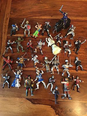 Lot Of 26 Early Learning Centre Knights Action Figures, ELC, Castle, Great!!
