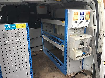 Ford transit connect racking and shelving