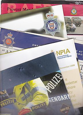 Mixed selection of seven police related publications