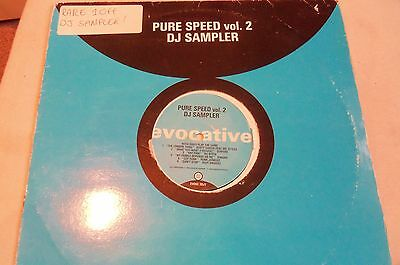 Pure Speed Garage Vol 2 - Sampler - 6 Tracks On 1 Plate - Listen Warpers