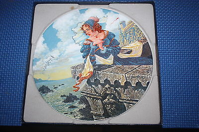 The Longton Crown Pottery Canterbury Tales Collector's Plate The Franklins Tale