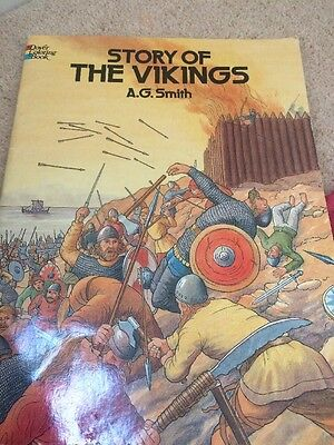 Vikings Book Colouring Book Vikings Project Book