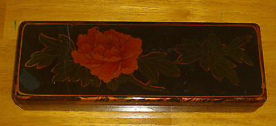 Unbranded ~ Tortoise Shell Effect Plastic Box ~ Is Vintage