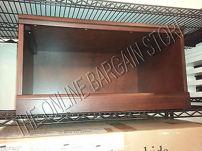 Pottery Barn Kids Cameron Cabinet Cubby Wall system Base open espresso