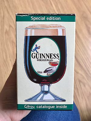 2x Boxed Guinness Goblets - Special Edition Gilroy Classics
