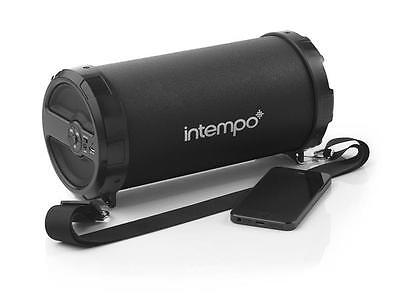Intempo Large Rechargeable Portable Wireless Bluetooth Speaker