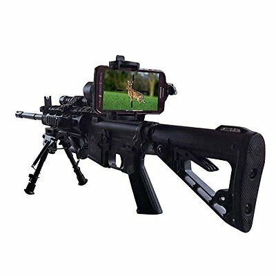 Universal Mobile Phone Holder Mount Spotting Scope Cellphone Adapter Scope Rifle