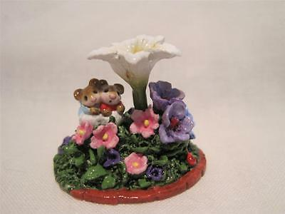 Wee Forest Folk LE Blooming Friendship Folktoberfest Event Accessory Piece 2014