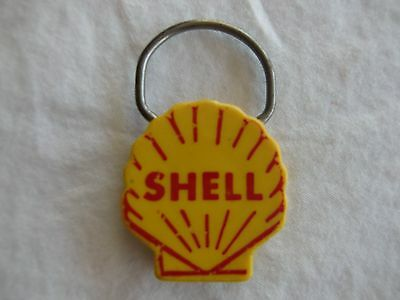 Vintage Shell Oil Gas Key Chain Ring Greenville Service Co, Greenville, IL