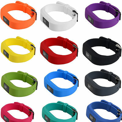Replacement Wristband Bracelet Strap Band  for Garmin Vivofit 3 Classic Buckle