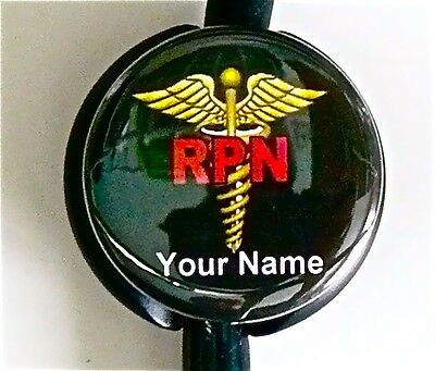 Rpn Stethoscope Id Name Tag Canada Registered Practical Nurse Medical Imprinted
