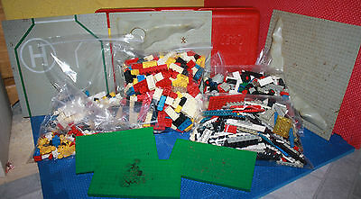 Large Misc Lot of Lego Blocks including Suitcase and Building Bases