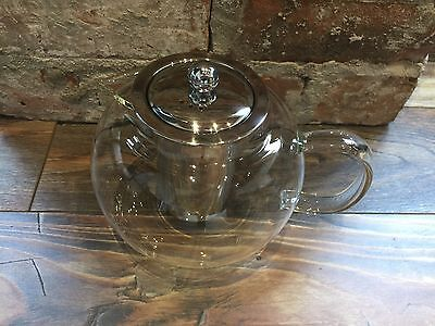 Camellia Exclusive Glass tea Pot With Filter 1200ml