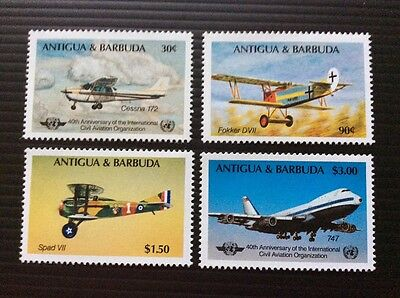 Antigua and Barbuda 1985 The 40th Anniversary of the civil aviation organistion
