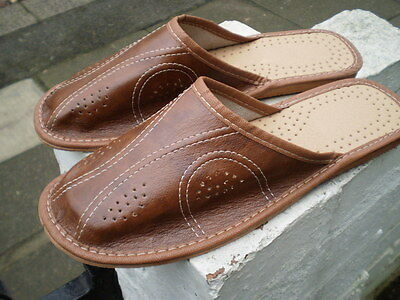 Brand New Mens Slippers; Size 8/42,