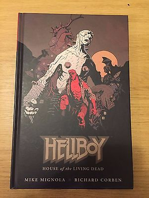 Hellboy - The House of the Living Dead by Mike Mignola