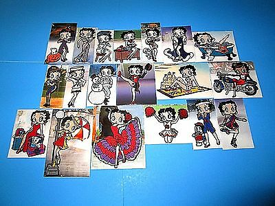 Betty Boop Willabee & Ward 33 Patch Sealed Lot