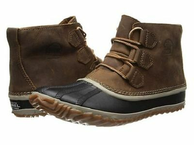NIB Women's Sorel Out N About Boots, Waterproof Leather Size 9.5
