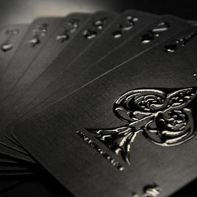 1 x Impressions Black Stealth Limited Custom Poker Playing Cards Professional