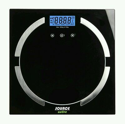 180Kg Digital Electronic Lcd Bmi Calorie Body Fat Bathroom Weighing Scale Weig