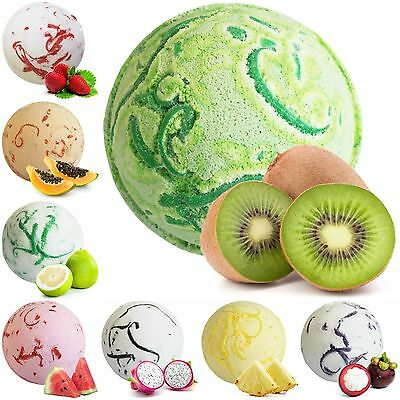 Large 180g x3 Tropical Paradise Coco Bath Bombs - Amazing Scented Fragrances