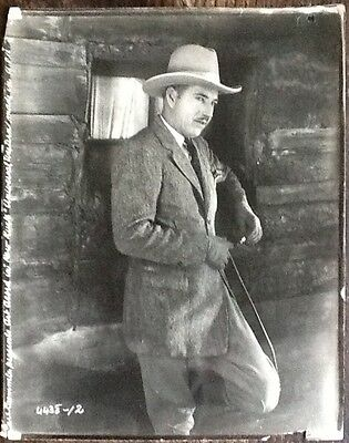 Art Acord in Low Luck - A Carl Laemmle Universal Western - 1920's Portrait