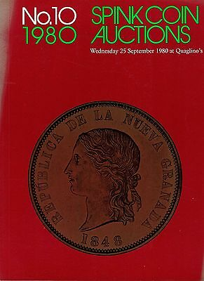 SPINK Auction 10 25th September 1980 World Gold coins priced and in good order.