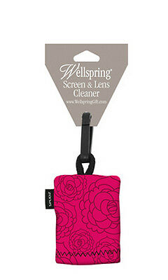 Wellspring Microfiber Lens-Glasses-Screen Cleaner-Terrace Pink Melrose 3210