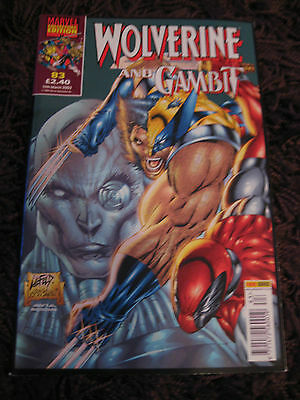 Wolverine and Gambit Comic - Marvel Collectors' Edition 83