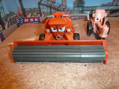 Disney Cars Diecast - Frank Combine And Tipping Tractor Loose Rare, Uk Seller