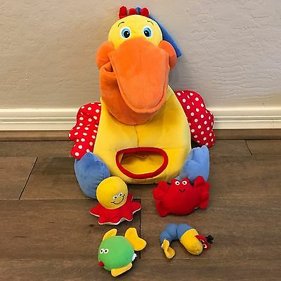 K's Kids Hungry Pelican Plush Toy