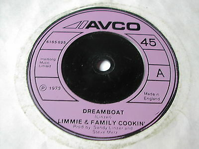 """Limmie & The Family Cooking - Dreamboat - Avco 7"""" - 1P Single"""