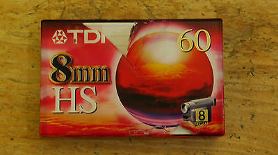 Unopened Tdk 8Mm Hs 60 Video Tape