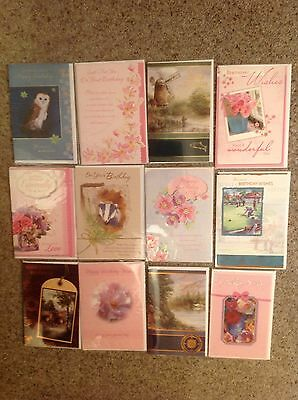 Selection Of 12 Assorted birthday cards