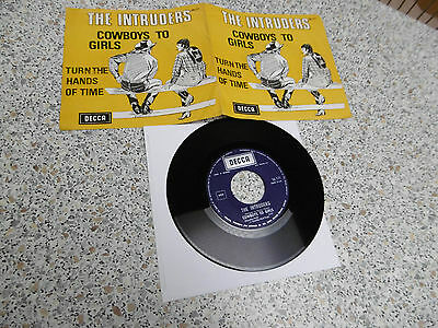 the intruders ; rare :Cowboys To Girls / made in belgium 26.171