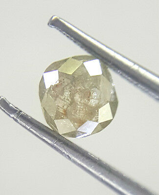 0.41TCW Greenish Gray color Oval shape Antique Natural Loose Diamond for Ring