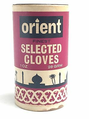 Vintage Orient Selected Cloves Card Tub + Some Content - Pearce Duff & Co. Ltd.