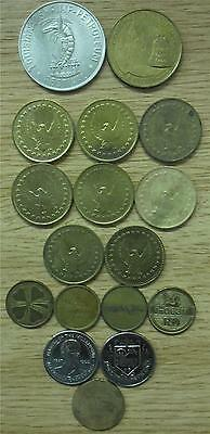 Collection of Tokens & Medallions from Various Places in the World (17)