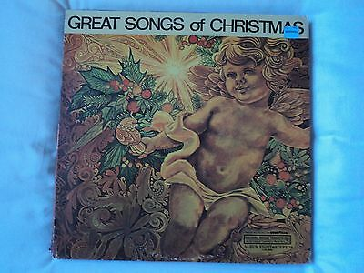 Great Songs Of Christmas- Various Artists ~ US pressing RARE ~ EX / VG