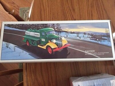 First Hess Truck Toy Bank