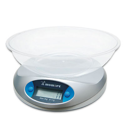 Kitchen Weighing Scales with Bowl
