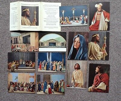 Oberammergau Passion Play 1960 - Set Of 12