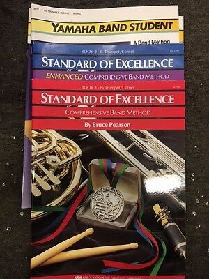 Trumpet/Cornet Method Books Various Titles