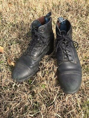 Ariat Performer Pro Lace-Up Paddock Boots - 7.5