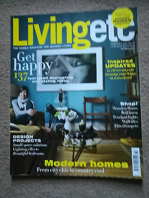 LIVING ETC MAGAZINE - February 2011