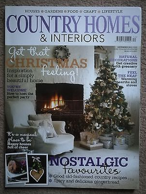 Country Homes and Interiors magazine - December 2011