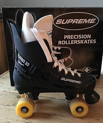 Supreme Rollers Turbo 33 Precision Rollerskates size 40 (UK 7)