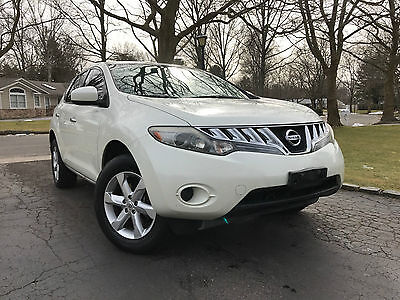 2009 Nissan Murano S Sport Utility 4-Door 2009 NISSAN MURANO AWD RUNS SUPER ORIGINAL OWNER CLEAN CAR FAX